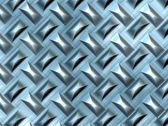 Metal flooring — Stock Photo