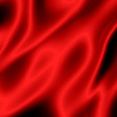 Red satin abstract background — Stock Photo