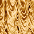 Stock Photo: Golden silk fabric