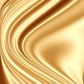 Golden fabric grunge — Stock Photo