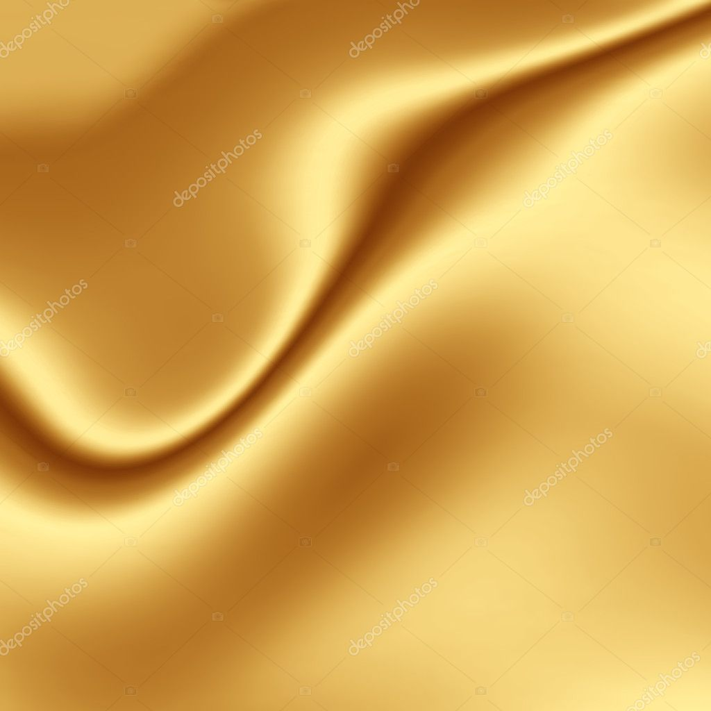 Gold silk fabric texture — Stock Photo #2153056