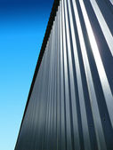 Metallic wall — Stock Photo