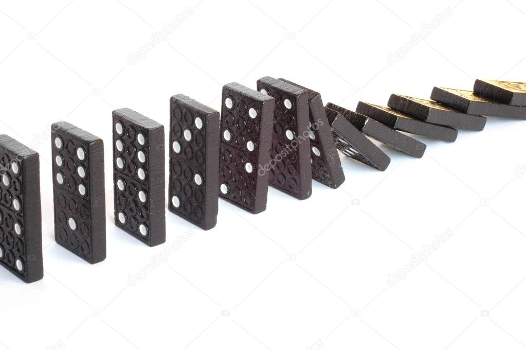 Domino effect — Stock Photo #1599271