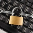 Locked Keyboard — Stock Photo