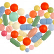 Pills Heart — Stock Photo #1637793