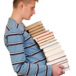 Boy with Books — Stock Photo #1638052
