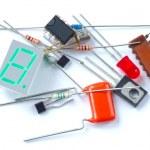 Electronic parts — Stock Photo