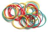 Rubber Bands — Stock Photo