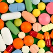 Pills on Green — Stock Photo #1783112