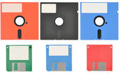 Floppy Discs — Stock Photo