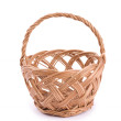 Wicker basket — 图库照片