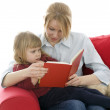 Mother and daughter reading — Stock Photo #2114508