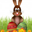 Royalty-Free Stock Photo: Easter bunny.