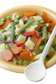 Zeleninová polévka dietní. — Stock fotografie