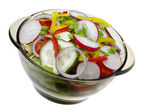 Salad with vegetables. — Stock Photo