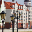 Quay in Kaliningrad — Stock Photo