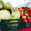 Vegetables on sale — Stock Photo