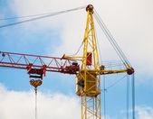 Elevating crane — Stock Photo