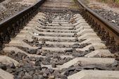Rails set four — Stock Photo
