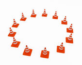 Traffic cones — Foto Stock