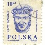 Vintage Polish Postage Stamp — Stock Photo #1857352