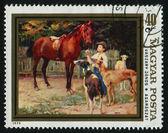 Carimbo postal de — Fotografia Stock