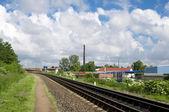 Rails set eleven — Stock Photo