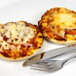 Mini pizzas — Stock Photo #1906855