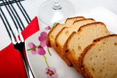 Madeira cake — Stock Photo