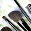 fünf Make-up-tools — Stockfoto