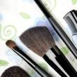 cinco ferramentas de maquiagem — Foto Stock