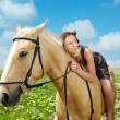 Royalty-Free Stock Photo: I love my horse