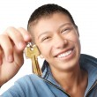 Stock Photo: I trust you my keys