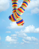 Vacation in the sky — Stock Photo