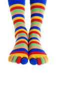 Foots of the clown — Stock Photo