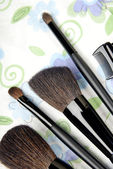 Five make-up tools — Stock Photo