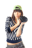 Me and my camera — Stock Photo