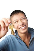 I trust you my keys — Stock Photo