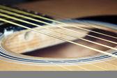 Gitar telleri — Stok fotoğraf