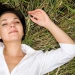 Relaxing woman — Stock Photo #1639877