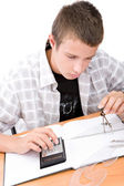 Learning teen — Stock Photo