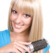 Blond hair — Stock Photo #1666248