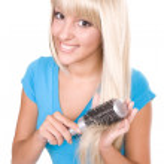 Blond hair — Stock Photo #1666405