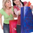 Shopaholics — Stockfoto