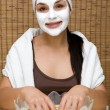 Stock Photo: Facial mask
