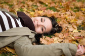 Happy autumn — Stock Photo