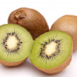 Kiwi divided into halves — Stock Photo