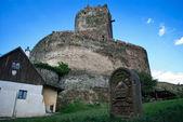 Ruiny średniowiecznego zamku — Zdjęcie stockowe