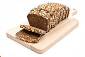 Sliced wholemeal bread — Stock Photo