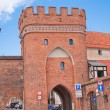Old town in Torun — Stock Photo